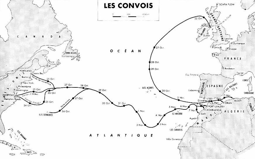 De  la Croix Gammée à la Bannière Etoilée Carte_convois